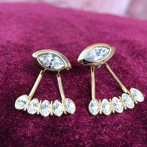 Ted Baker Wisteria Drop Earrings - Gold